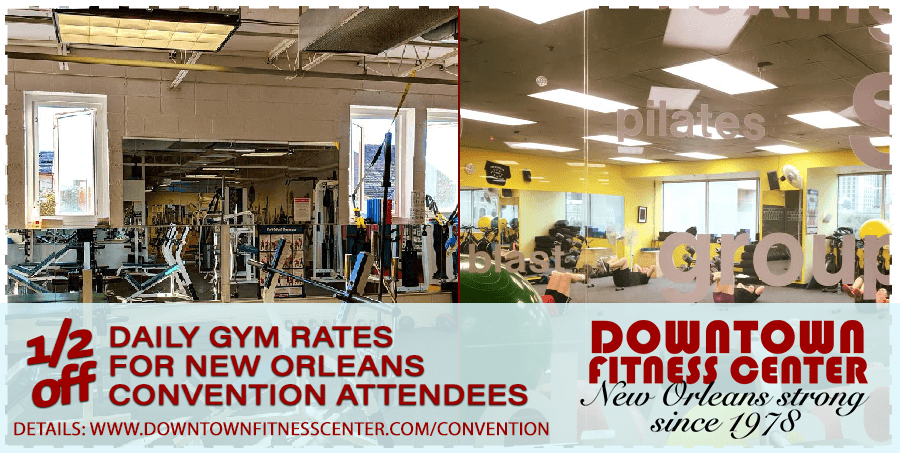 1/2 Off gym guest pass for Convention Attendees